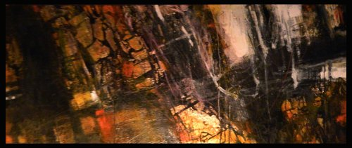triptych  mixed media on canvas 150 x 60 cm   2011 Antonio Civitarese